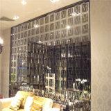 Tela de dobramento decorativa do painel de parede do aço inoxidável da tela 304 do metal do estilo novo para dividir o quarto
