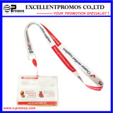 Wärme Transfer Printing Lanyard mit Card Holder (EP-Y1030)