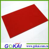 De Kleur PMMA goot AcrylBlad voor de Rugplank van het Basketbal