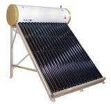 Гальванизируйте цену подогревателя воды солнечной силы стали Non надутую