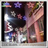 Luz grande da decoração da rua do Natal do diodo emissor de luz/luz motivo do feriado