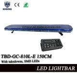 59 Zoll-blaue Haube, die Lightbar mit SMD LED und Verkehrs-Beraterfunktion (TBD-GC-810L-E 150CM, warnt)