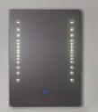 Specchio di vetro moderno della stanza da bagno LED di individualità (LZ-006)