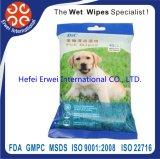 Wipes Pre-Umedecidos não tecidos do animal de estimação da orelha e do olho