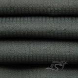 Agua y de la ropa de deportes tela tejida chaqueta al aire libre Viento-Resistente 100% de la pongis del poliester del telar jacquar de la tela escocesa abajo (E134)