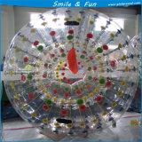 Размер D=2.5m/1.7m TPU материальный для шарика Zorb 2 взрослых