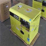 motor diesel silencioso 7.5kVA de 50Hz China Dg6500se que genera el sistema
