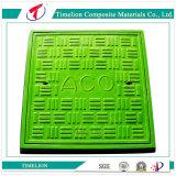 Coperchio di botola di plastica di rinforzo fibra di vetro per la pioggia della fogna
