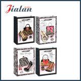 관례 포장 쇼핑에 의하여 인쇄된 로고는 숙녀를 위한 종이 봉지를 도매한다