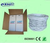 옥외 구리 Cu/Bc PVC+PE 또는 PE UTP/FTP Cat5e 근거리 통신망 네트워킹 케이블 Cm/Cmr