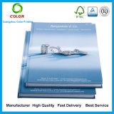 Impresión dura del libro de la cubierta de la alta calidad en China