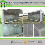 Дом стальной структуры передвижного модульного здания полуфабрикат/дом контейнера
