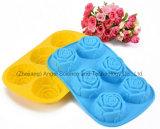 La venta caliente BPA libera la herramienta Sc41 de la torta de la hornada del silicón de Rose