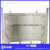 Grande gaiola pesada do armazém de armazenamento do metal da flexibilidade 800kg