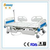 Bâti patient électrique de fonctions des meubles cinq d'hôpital de la Chine