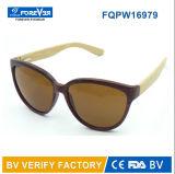 Le bambou de la bonne qualité Fqpw16979 arme le type de Classcial de lunettes de soleil