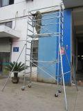 Andaimes móveis qualificados GV seguros do CE para a construção