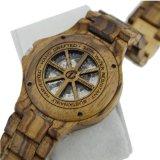[أم] مصنع [أم] جديدة فولاذ ساعة خشبيّة آليّة ساعة خشبيّة