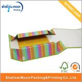 주문을 받아서 만드십시오 상자 (QYCI1514)를 포장하는 Foldable 화장품을 인쇄하는 상표를