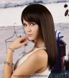 Parrucca piena del merletto di colore di Remy dei capelli diritti naturali del Mop