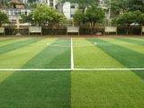 Grama artificial do futebol ao ar livre com altura de 50mm