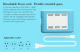 AC 100-240V 6 Ports USB Mobile Phone Fast Charger (ID531)