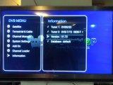 Populaire dans South Amerca Récepteur Android Ipremium I9 avec S2 + T2 / C / ISDB-T Combo Tuner