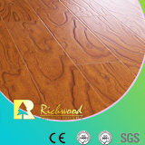 Revêtement de sol en stratifié bordé à l'érable à l'encre gaufré de 12,3 mm HDF AC3