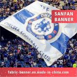 선전용 폴리에스테는 깃발을 광고하는 스포츠 깃발을 주문 설계한다
