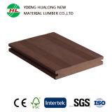 Panneaux de plastique en bois de Decking d'étage pour extérieur (M166)