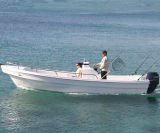 Ce Certification Fiberglass Pontoon Boat da vendere