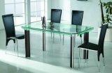 Glas van de Eettafel van de kleur het Patroon Gefrite