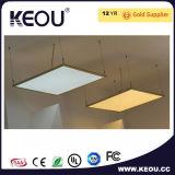 PF>0.5, 0.9 painéis claros lisos do diodo emissor de luz para a casa/escritório usados