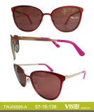 Occhiali da sole Handmade degli occhiali da sole del metallo di modo (95-B)