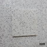 Hoja superficial sólida de Corian del revestimiento de madera de la pared del cuarto de baño