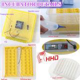 Rotation automatique d'oeufs de la CE d'incubateur de contrôle de température clair automatique de Hatcher 48 Digital