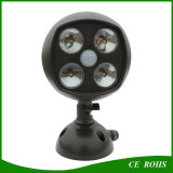 Capteur d'angle réglable Spot à LED solaire Ampoule extérieure