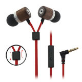 Custom Design creativo Highquality Stereo Earphone con Never Entangled Cable