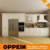 Oppein 7日配達白いPVC木製の台所家具(OP14-K001)