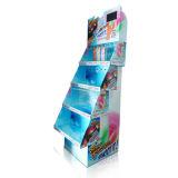 Quatre couleurs sautent vers le haut l'étalage de carton, enregistrent Dislays de papier