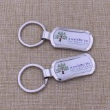 Laser Printing Logo Metal Keychain Custom Sale für Promotion Activity