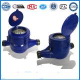 Flussometro di plastica dell'acqua in azzurro (materiale dell'ABS)