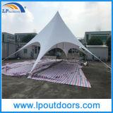 tente maximale extérieure d'écran d'ombre d'étoile de PVC de blanc de 14X19m double