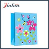 Großhandelssonnenblume-Entwurfs-4c gedruckte Geschenk-Verpackungs-Einkaufen-Papiertüten