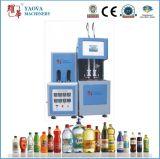 maquinaria plástica do frasco do animal de estimação 2L da máquina moldando Semi automática do sopro