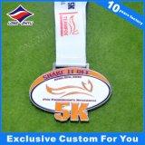 Concesiones corrientes de bronce de la medalla de la acabadora de la medalla corriente del maratón con el esmalte del color