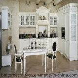 Gabinete de cozinha moderno do estilo europeu elevado do lustro