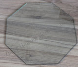 6mm Octagon Clear Toughened Glass