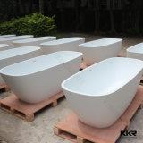 Baignoire en pierre acrylique Shaped de STATION THERMALE de salle de bains d'oeufs