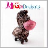 가장 새로운 장식 예술 선물 세라믹 동물성 돼지 저금통 OEM